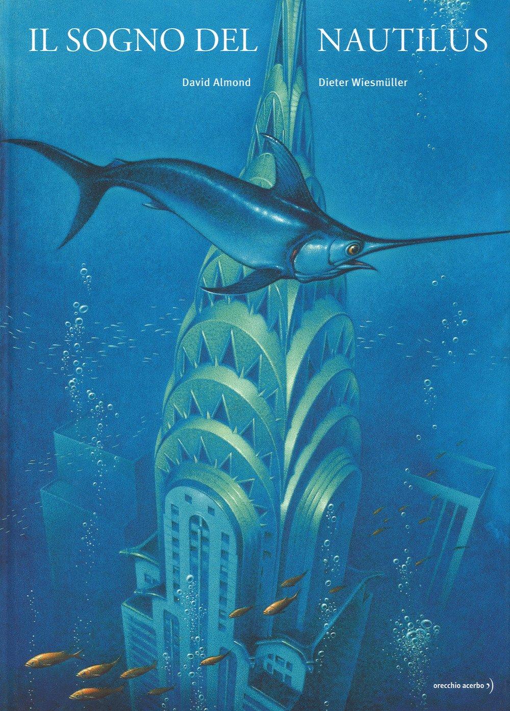 Queste sono pagine piene d'acqua. Le creature del mare nuotano sotto i nostri ponti, davanti ai nostri castelli. Risalgono in superficie lungo pinnacoli e statue. Questo è un libro in cui nuotare. Immergetevi nelle sue pagine. Inabissatevi in questo futuro grigio-azzurro. Vivete insieme a queste creature stupende e ascoltate il loro canto. Età di lettura: da 9 anni
