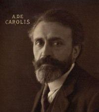 GIULIA BONARELLI E ADOLFO DE CAROLIS: LA CORRISPONDENZA CONSERVATA PRESSO LA GALLERIA NAZIONALE D'ARTE MODERNA E CONTEMPORANEA DI ROMA Nella parte della sua vita quotidiana che Giulia Bonarelli dedicava alla sua passione per l'arte, sia antica che moderna, fa la conoscenza di Adolfo De Carolis, nato a Montefiore dell'Aso (1874-1928), uno dei più noti artisti italiani dell'epoca, protagonista dell'arte italiana idealista e simbolista.