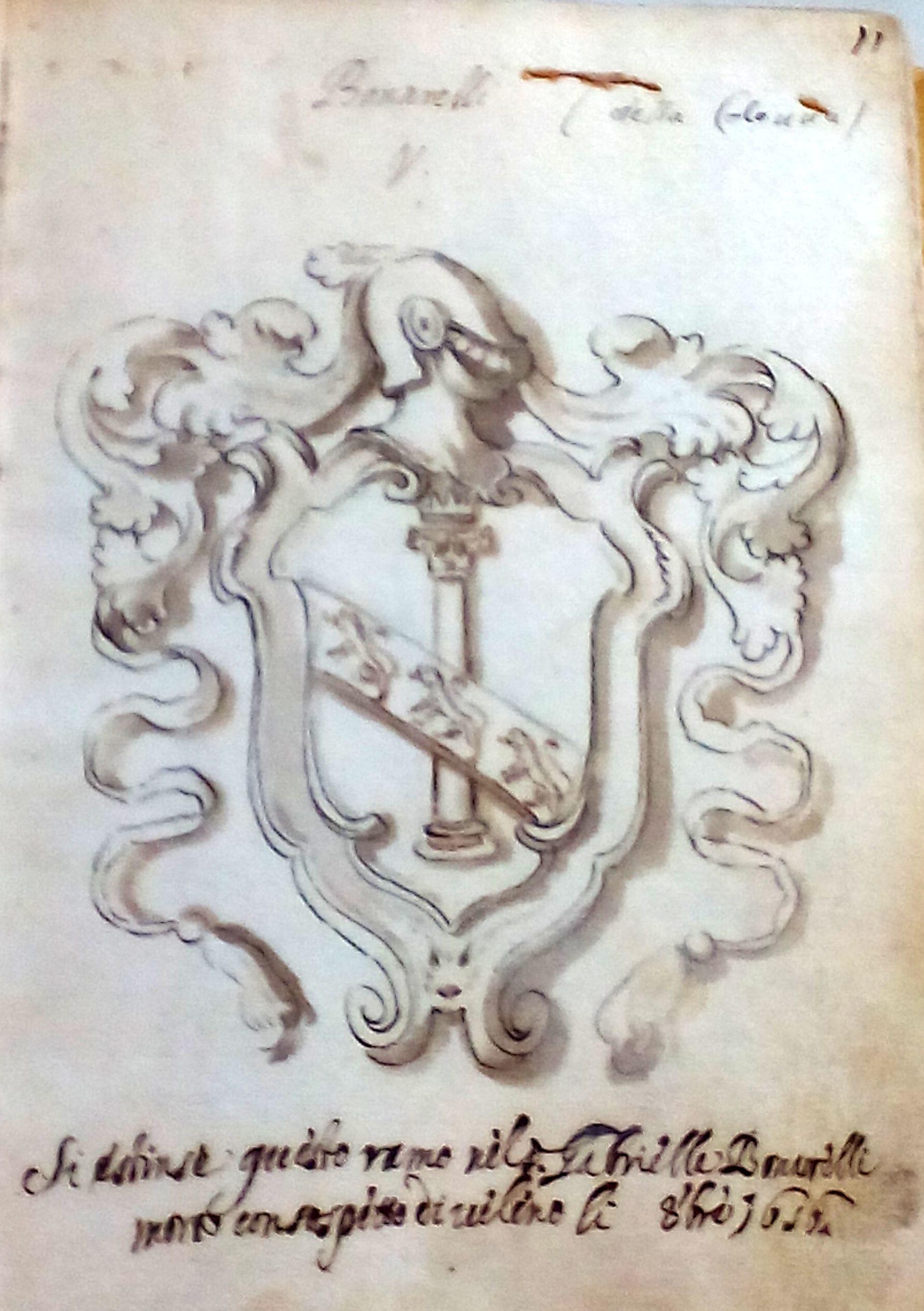 """LA FAMIGLIA BONARELLI Noto soprattutto per la tragedia """"Il Solimano"""", edita a Firenze nel 1620 è Prospero Bonarelli della Rovere (1580- 1659).  Nato a Novellara, dopo soggiorni presso varie corti, da Ferrara a Modena, da Firenze a Vienna, si stabilì infine ad Ancona, dove fondò l'Accademia dei Caliginosi.  Interessante la figura di Guido Bonarelli (1871-1951). Nato ad Ancona da Giulio,  dopo il liceo si trasferisce a Torino, dove nel 1894 si laurea in Scienze naturali.  Inizia rapidamente una feconda carriera di ricerca e di docente universitario. Opera per incarico di Società scientifiche straniere anche nel Borneo, in Spagna, Algeria, Tunisia e Argentina. La sua attività scientifica spazia dalla geologia alla paletnologia alla antropologia. Curò anche una storia della casata dei Bonarelli."""